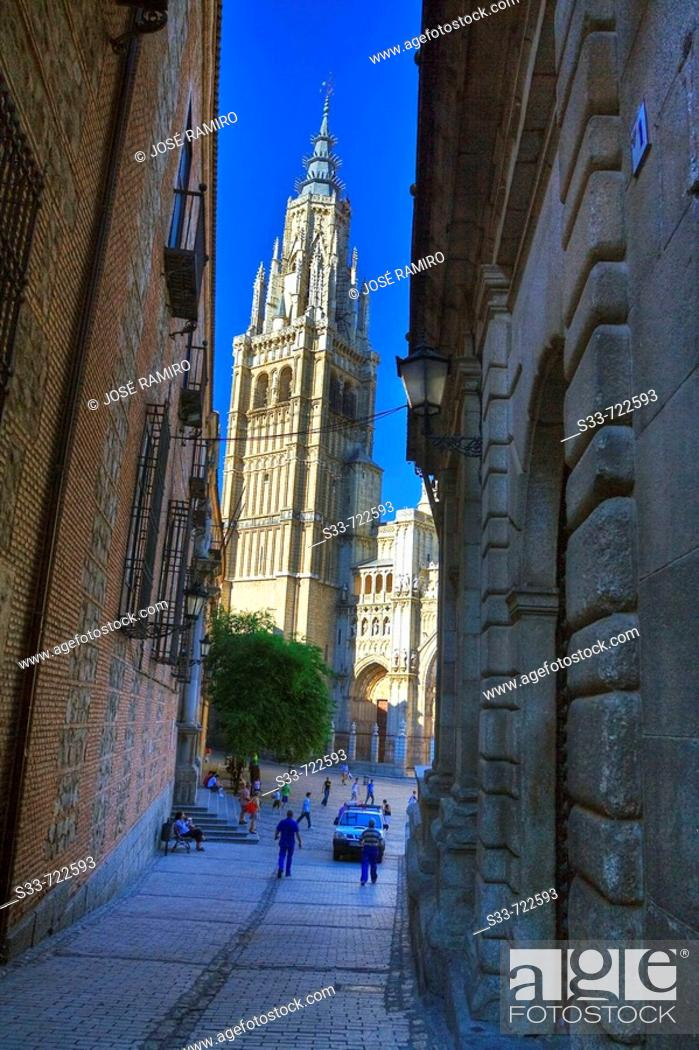 Stock Photo: Cathedral. Toledo. Castile-La Mancha. Spain.