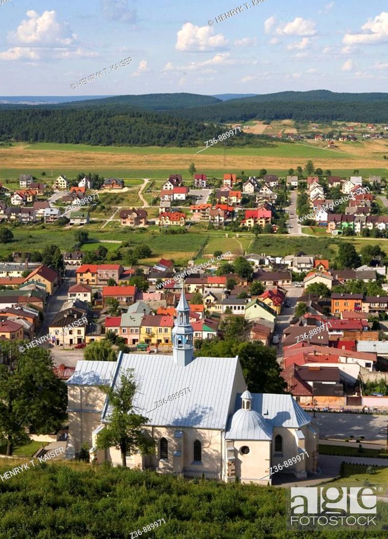 Stock Photo: Checiny, Poland.