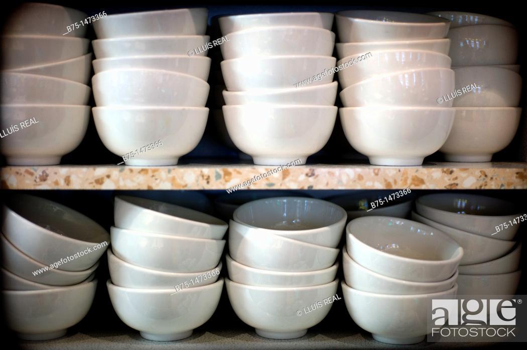 Stock Photo: Bowls.