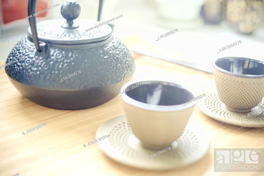 Imagen: Chinese tea style life.