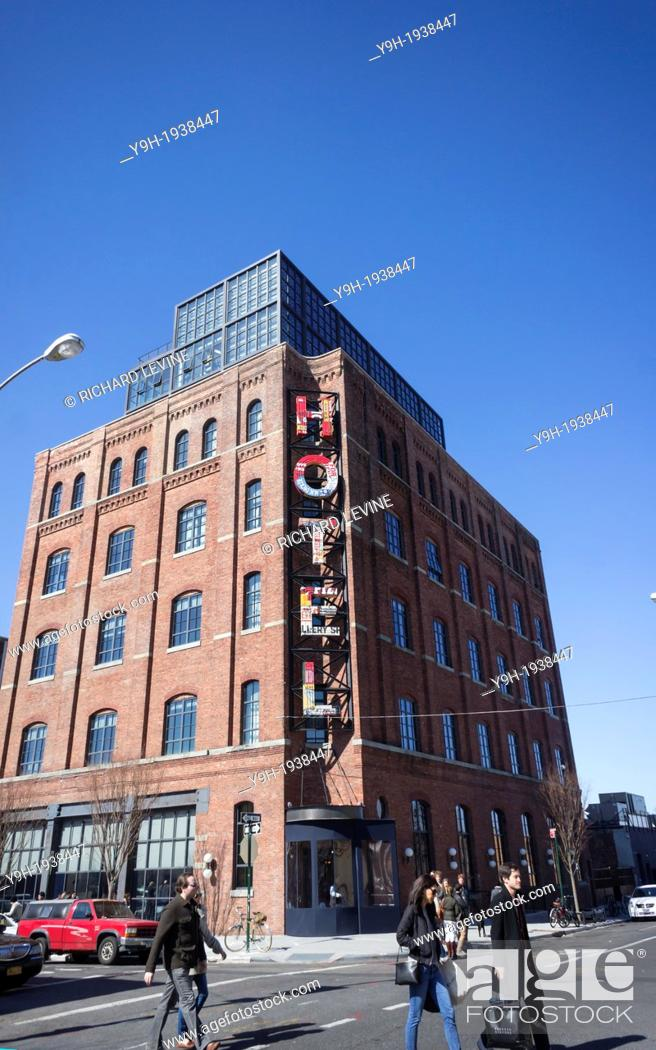The Wythe Hotel In The Williamsburg Neighborhood Of Brooklyn In New York Stock Photo Picture And Rights Managed Image Pic Y9h 1938447 Agefotostock