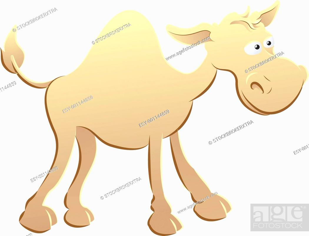 Stock Photo: camel illustration.