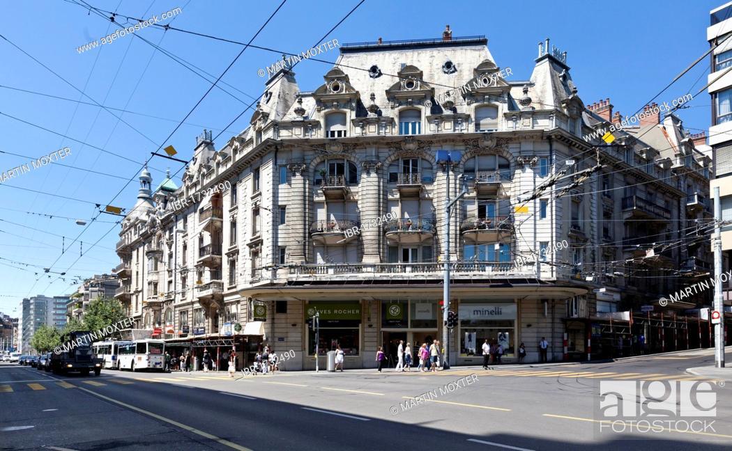 Stock Photo: Lausanne, canton of Vaud, Lake Geneva, Switzerland, Europe.
