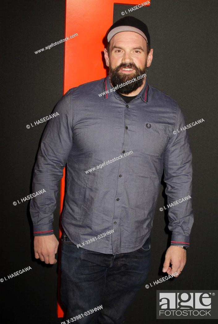"Photo de stock: Ethan Suplee 03/09/2020 The Special Screening of """"The Hunt"""" held at The ArcLight Hollywood in Los Angeles, CA. Photo by I."