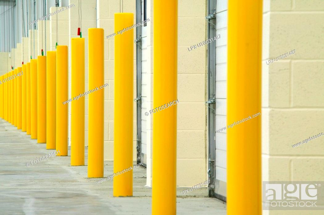 Stock Photo: Storage Units.