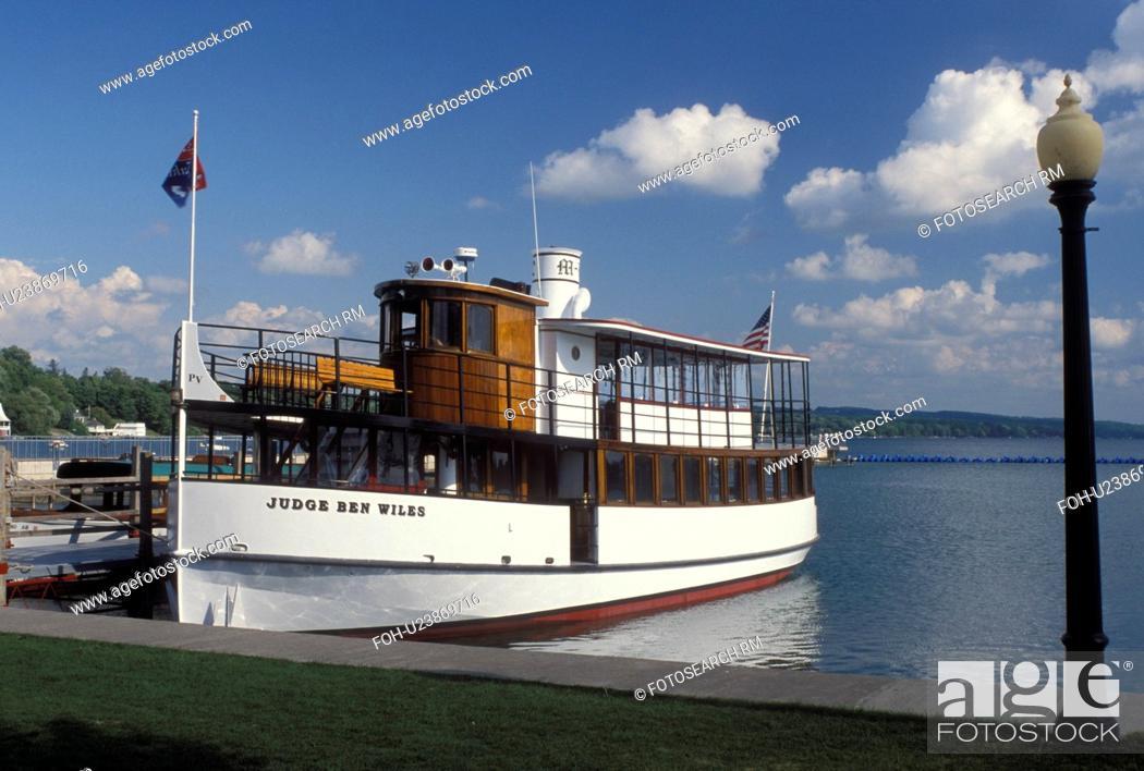 Tour Boat Skaneateles Ny New York Skaneateles Lake Finger Lakes