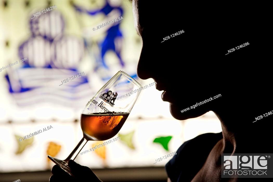 Imagen: Pérez Barquero Wine Cellars, Montilla, Córdoba Province, Andalusia, Spain.