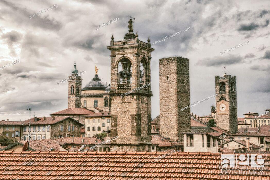 Stock Photo: Bergamo, Italy, Europe.