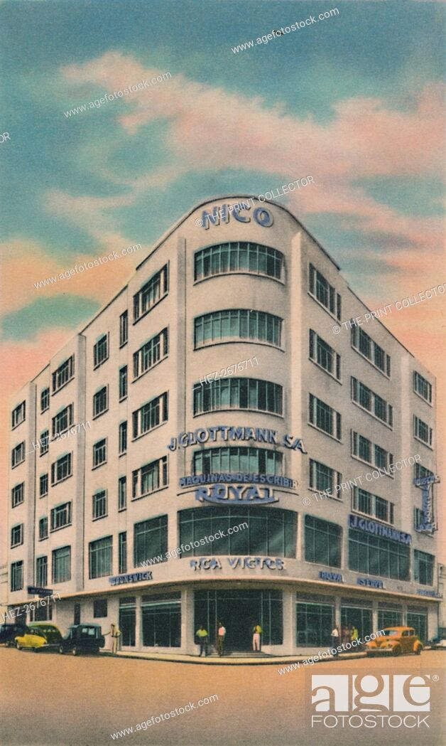 Stock Photo: 'Nico Building, Owners: P. & M. Matera, Barranquilla', c1940s. Artist: Unknown.