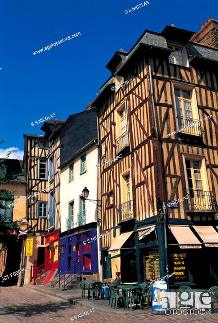 Stock Photo: France, Brittany, Rennes.