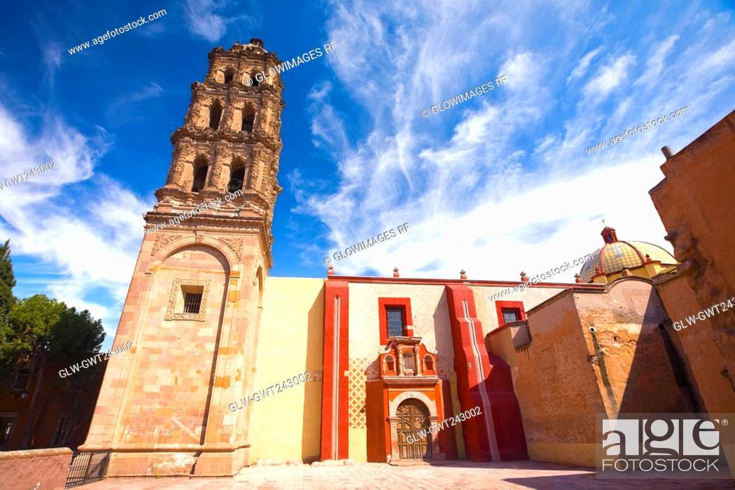Stock Photo: Low angle view of a building, San Agustin, San Luis Potosi, Mexico.