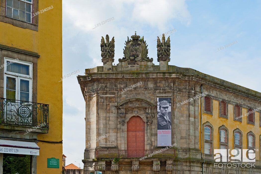 Stock Photo: Portuguese Center of Photography, former prison, Rua Campo dos Mártires da Pátria, City of Porto, Portugal, Europe.