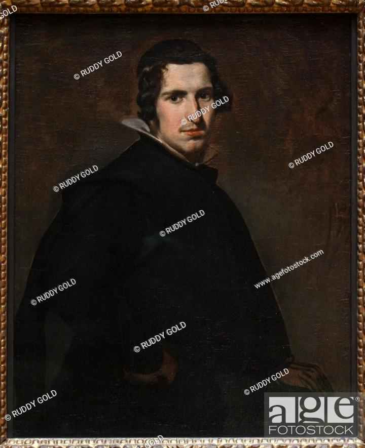 Stock Photo: 'Young Spanish Nobleman', 1631, Diego de Velazquez (1599-1660).