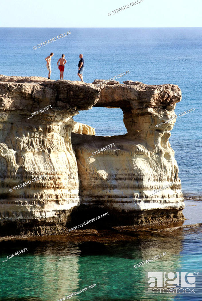 Stock Photo: Cap Grek. Agia Napa. Cyprus.