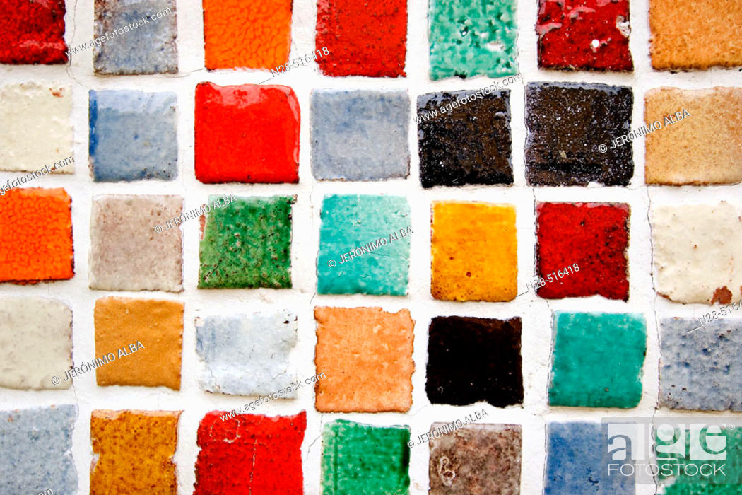 Stock Photo: Tiles. Sintra. Portugal.