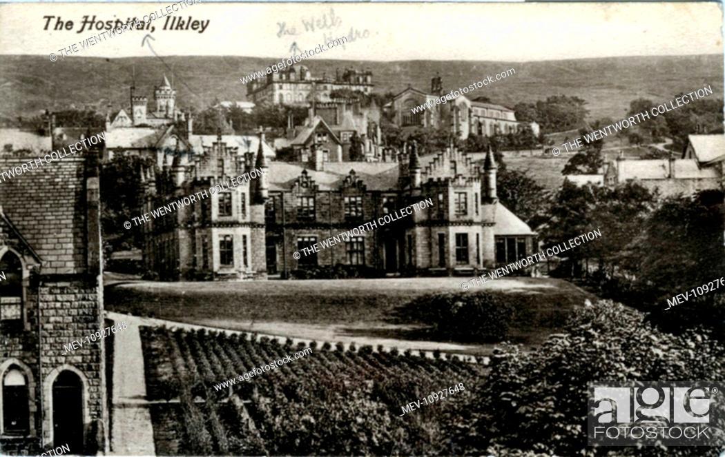 Stock Photo: The Hospital, Ilkley, near Burley-in-Wherfedale, Yorkshire, England.