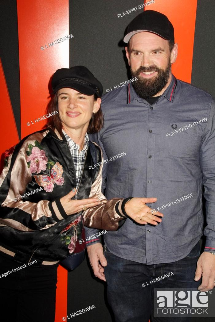 """Photo de stock: Juliette Lewis, Ethan Suplee 03/09/2020 The Special Screening of """"""""The Hunt"""""""" held at The ArcLight Hollywood in Los Angeles, CA. Photo by I."""