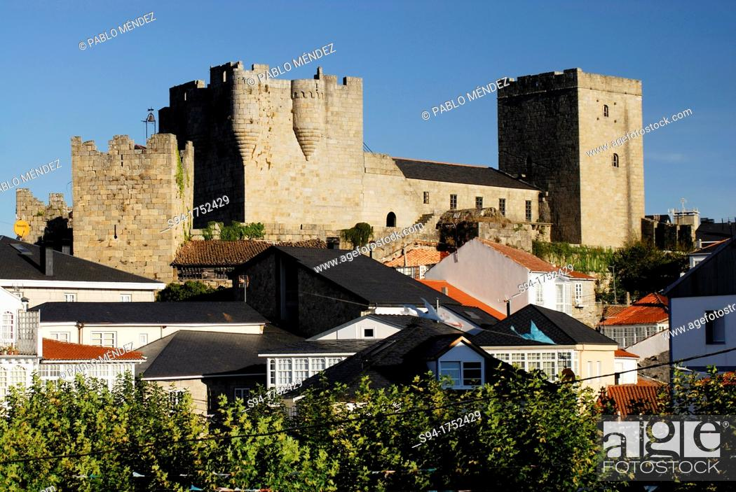 Imagen: Castle of Castro Caldelas, Orense, Spain.