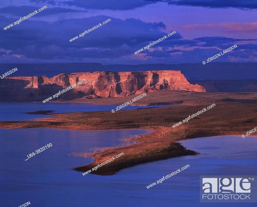 Stock Photo: Lake Powell Utah USA.