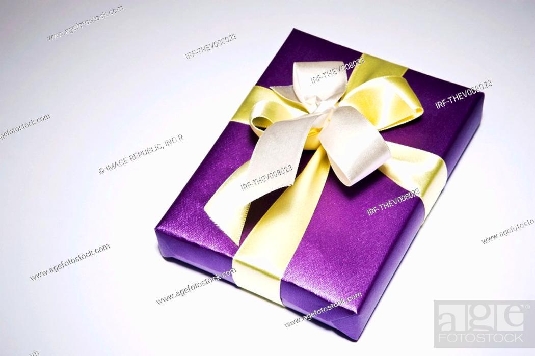 Stock Photo: gift box.