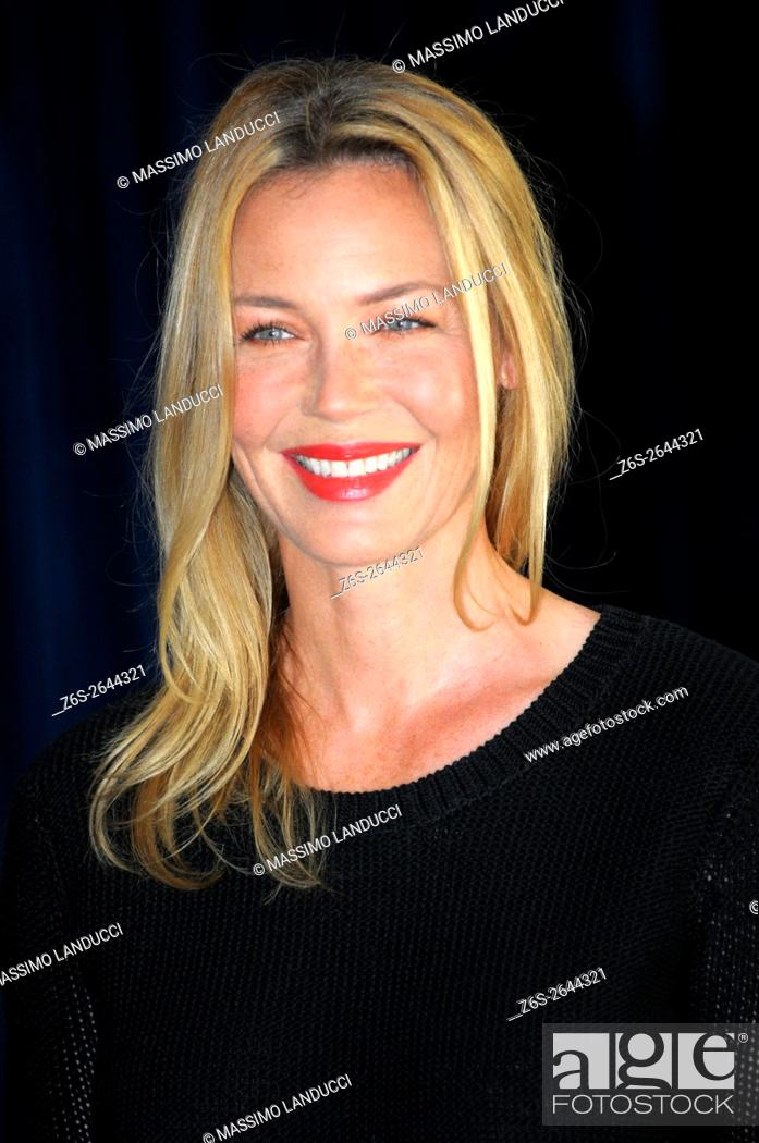 Stock Photo: Connie Nielsen; nielsen; actress; celebrities; 2016; rome; italy; event; photocall ; le confessioni.