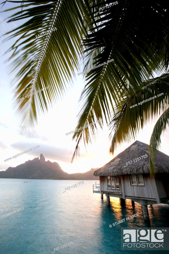 Stock Photo: Bora Bora, French Polynesia.