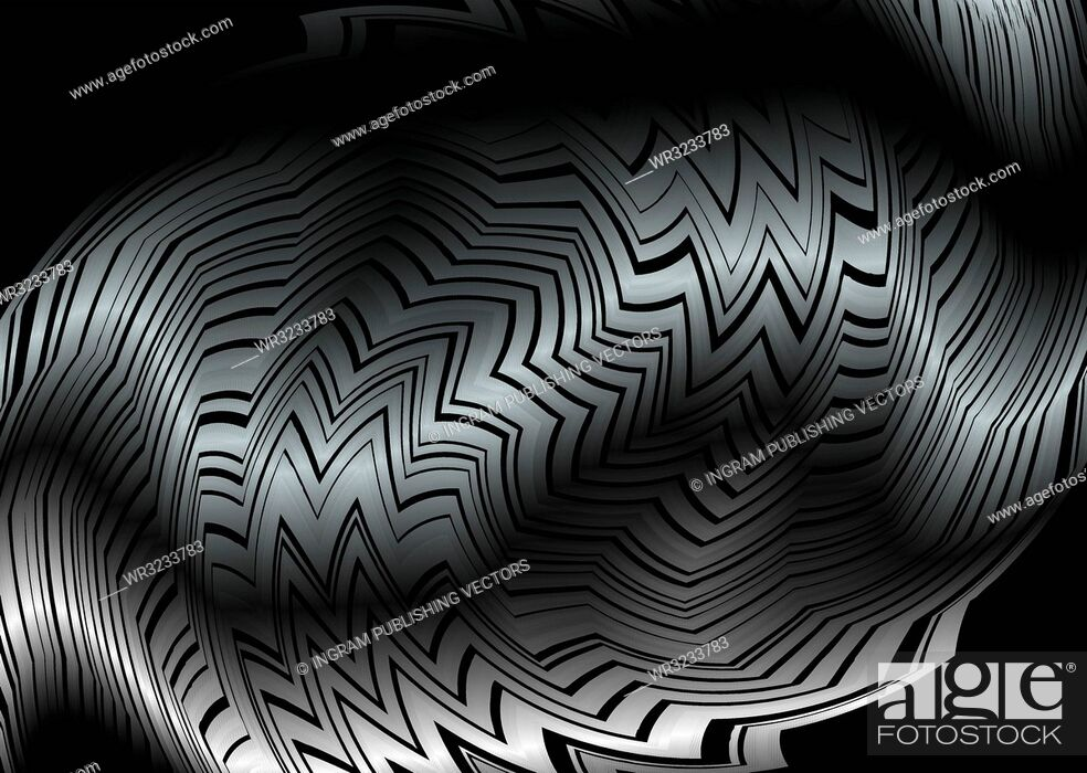 Vector: Abstract modern silver and black background with copy space.
