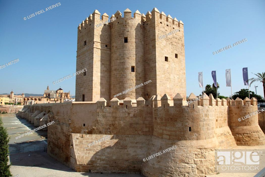 Stock Photo: Torre de la Calahorra Cordoba, Andalusia, Spain.