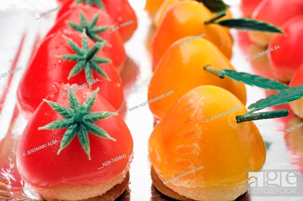 Stock Photo: Candied fruits.