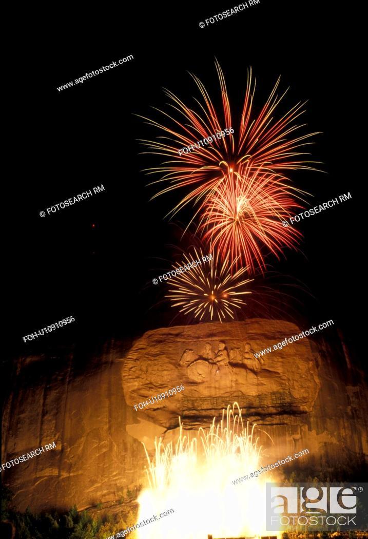 stone mountain fireworks stone mountain park atlanta georgia