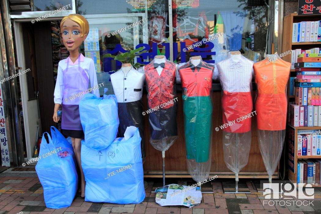Stock Photo: Dongdaemun Market, Seoul, South Korea, Asia.