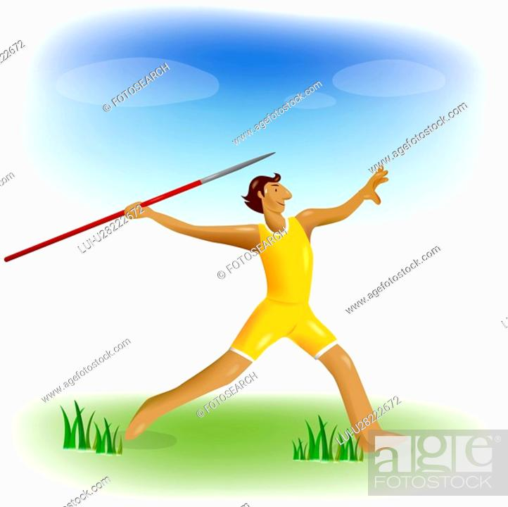 Stock Photo: athlete, Olympic, sports equipment, Olympic games, player, sports.