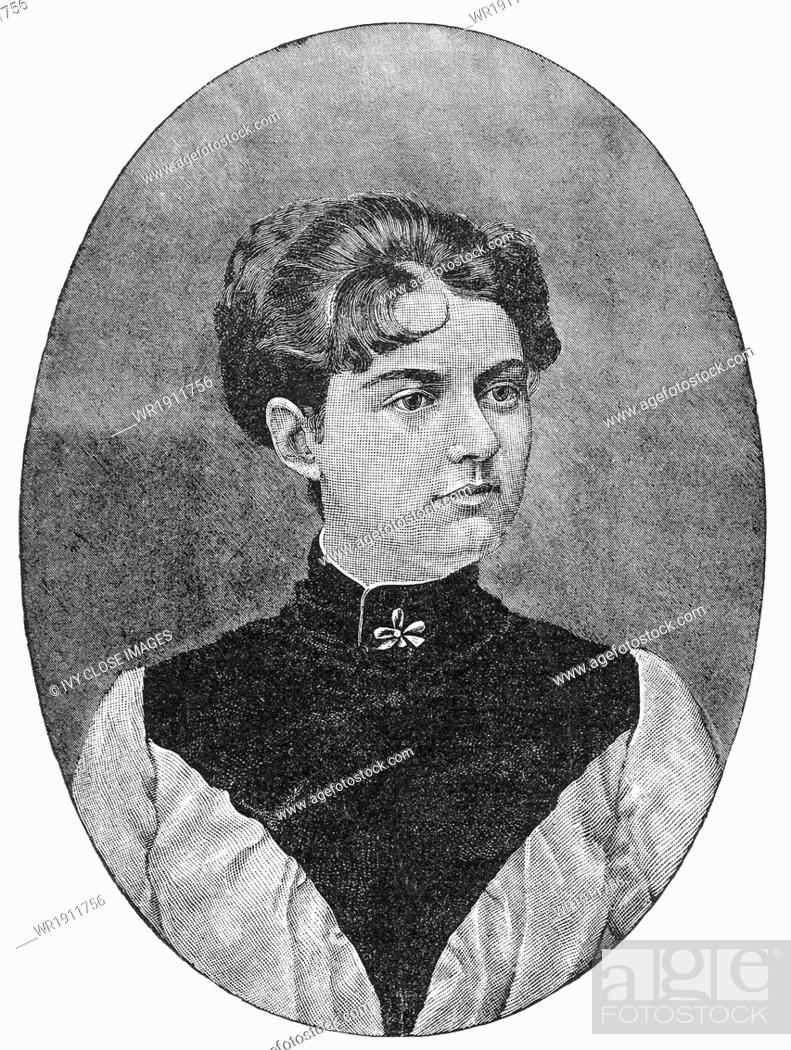 Mrs Frances Folsom Cleveland Was The Wife Of Grover
