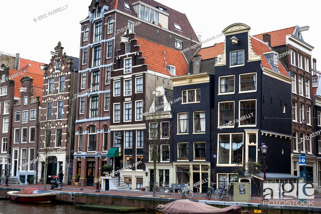 Imagen: amsterdam architecture . Canal house Holland.