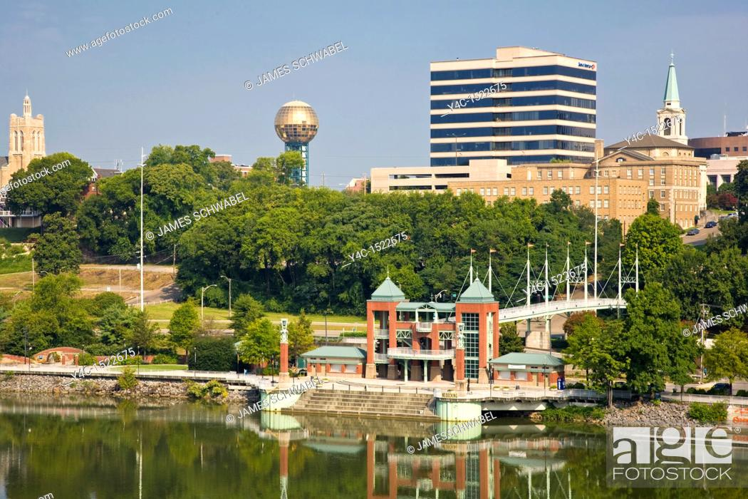 Stock Photo: Knoxville, Tennessee, USA.