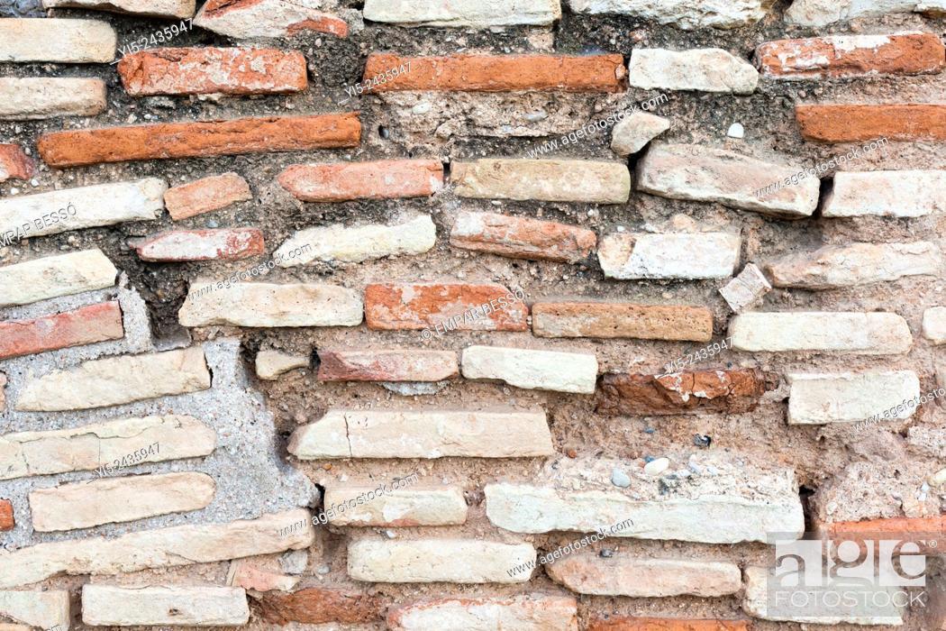 Stock Photo: Old wall. Valencia. Spain.
