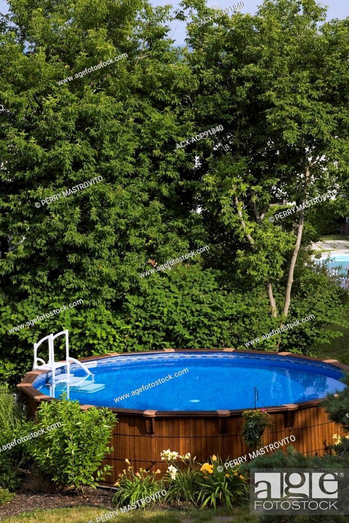 Above Ground Cedar Wood Swimming Pool