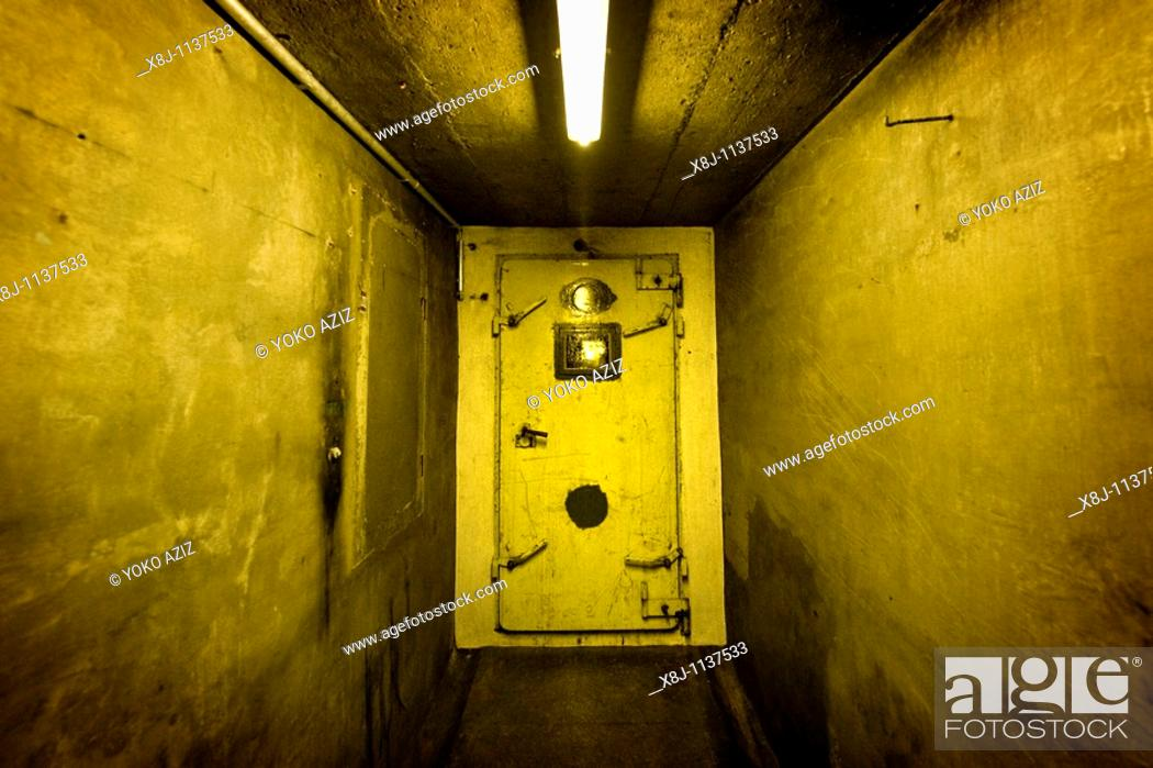 Stock Photo: Fallout shelter, Canton Ticino, Switzerland.