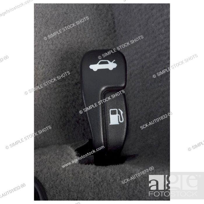 Stock Photo: vehicle controls.