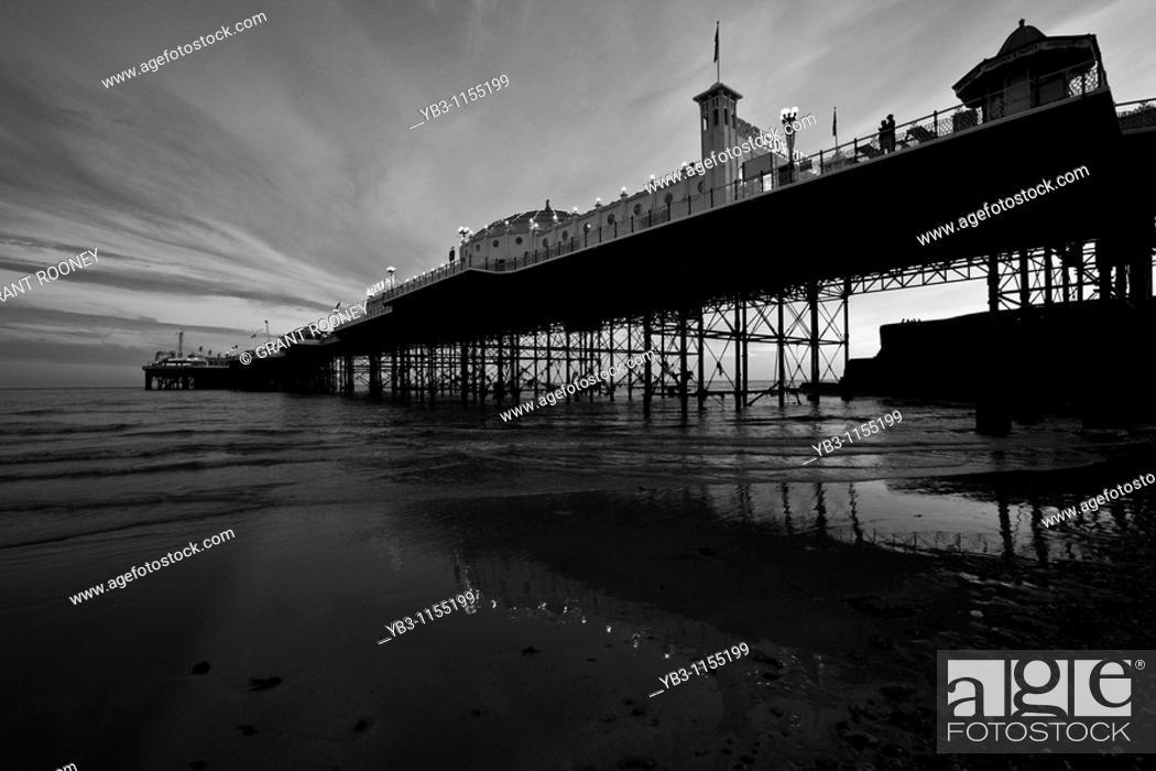 Stock Photo: Brighton Pier , Sussex , England.