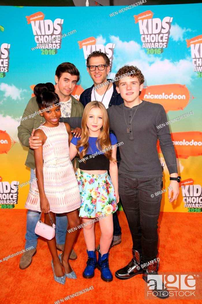 Celebrities attend Nickelodeon's 2016 Kids' Choice Awards at