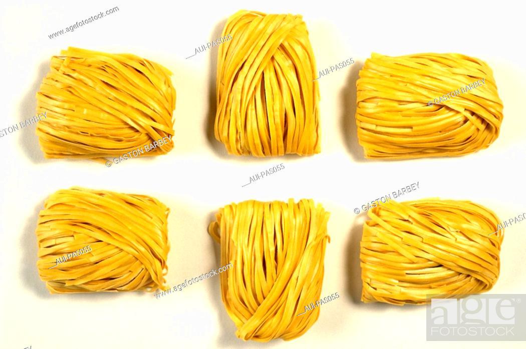 Stock Photo: Pasta - Asian Noodles - Egg Noodles.