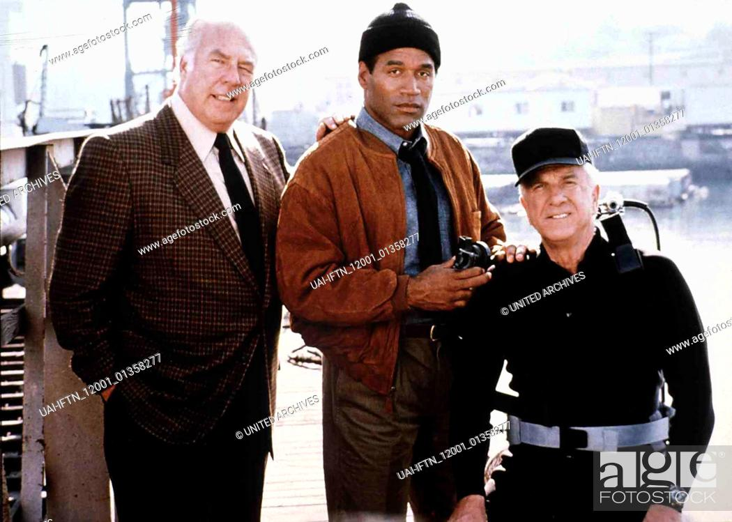 Stock Photo: Die Nackte Kanone 2 1/2 The Naked Gun 2 1/2 - The Smell of Fear USA 1991, directed by David Zucker George Kennedy, Leslie Nielsen, O.J. Simpson.
