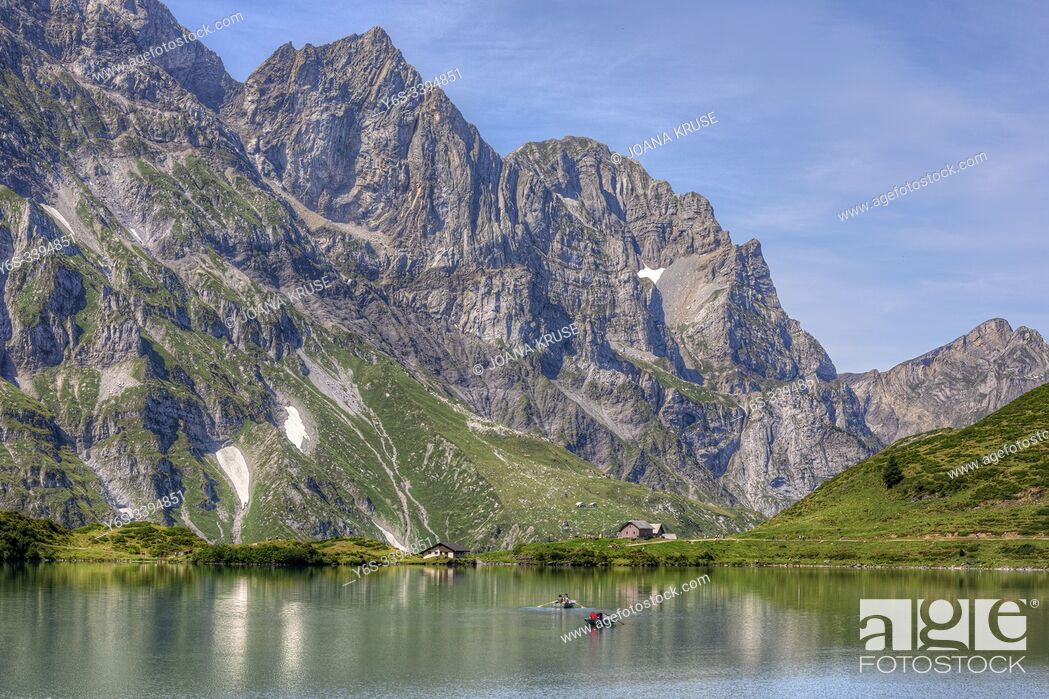 Stock Photo: Truebsee, Titlis, Engelberg, Nidwalden, Switzerland, Europe.