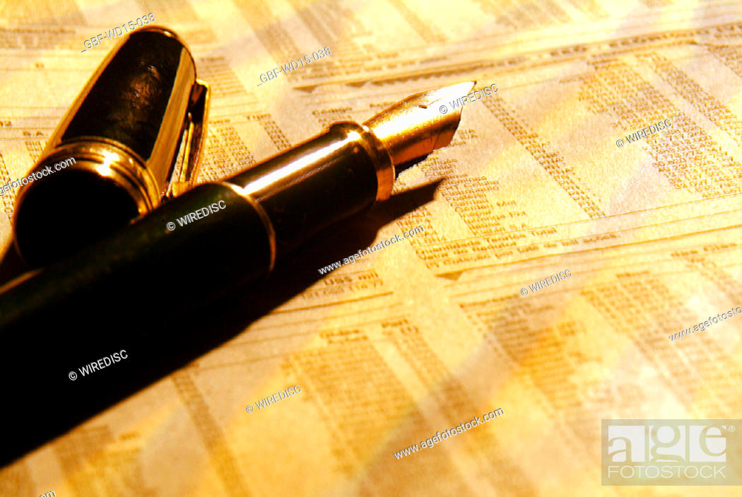 Stock Photo: Businesses Concepts II, pen, Brazil.