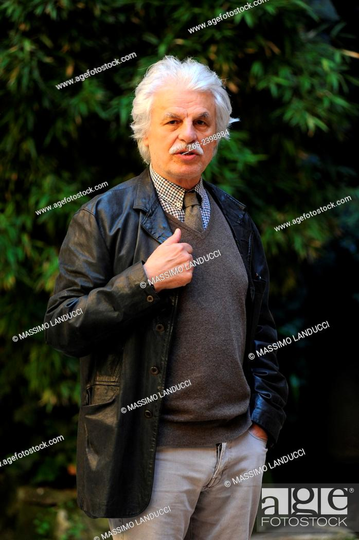 Stock Photo: Michele Placido; Placido; actor and director; celebrities; 2015;rome; italy;event; photocall; la scelta.