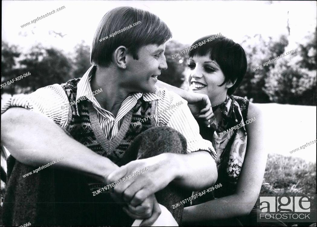 Jul  07, 1971 - Liza Minnelli is filming in Berlin (Germany