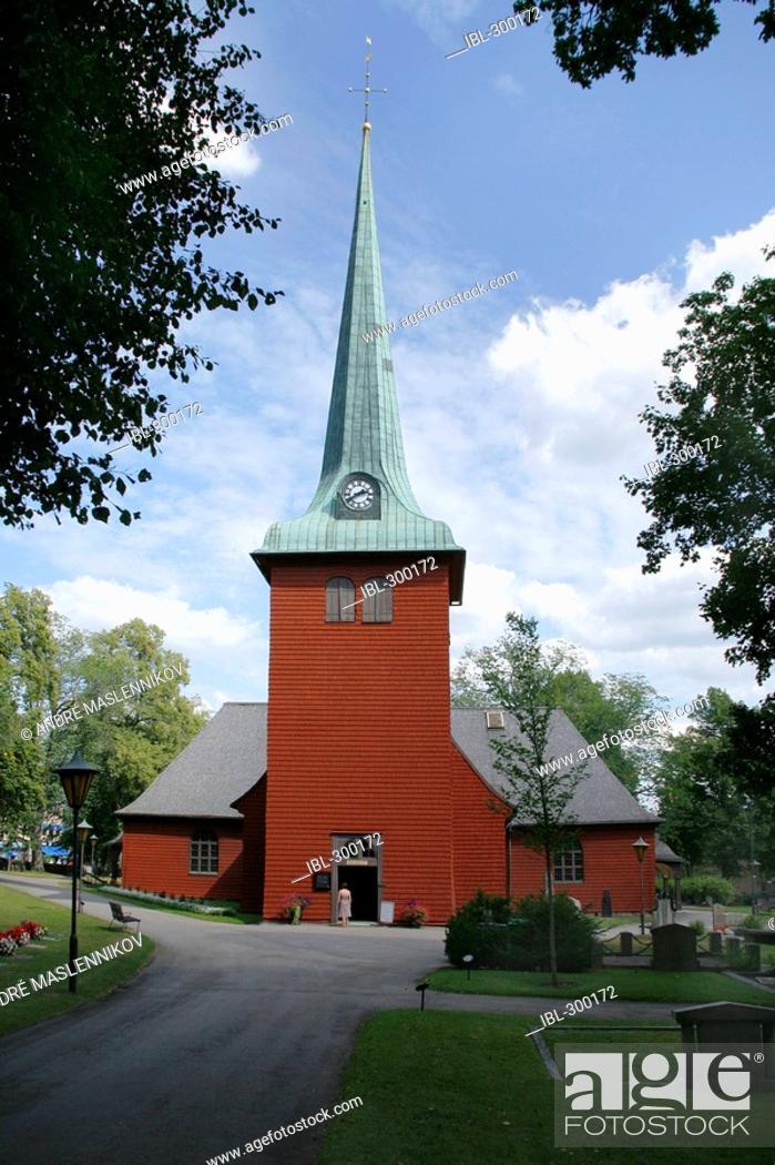 Stock Photo: Karlskoga Church.