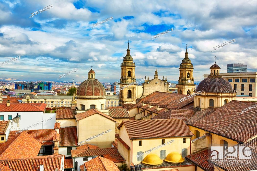Imagen: Catedral Primada de Colombia, La Candelaria, Bogota, Cundinamarca, Colombia, South America.