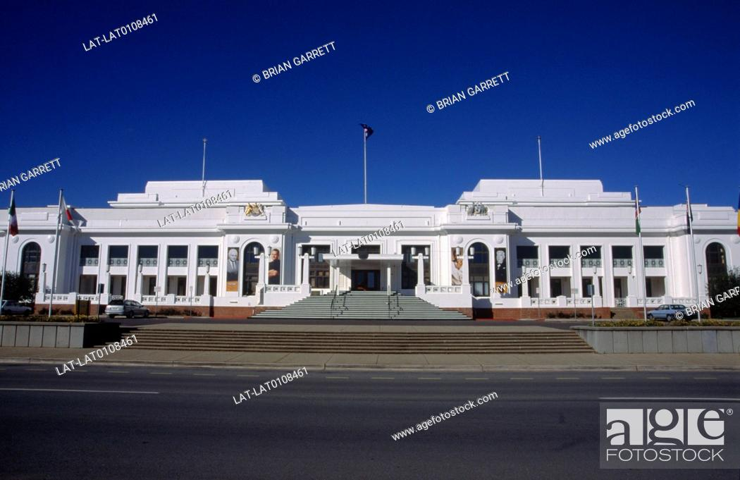 Old Parliament House was the seat of the Parliament of